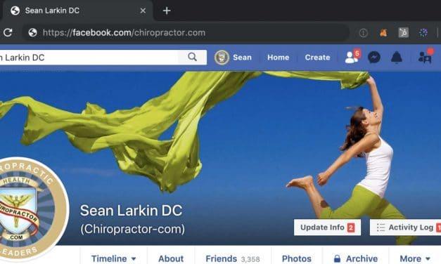 Make Facebook Scream… I'm a Chiropractor!