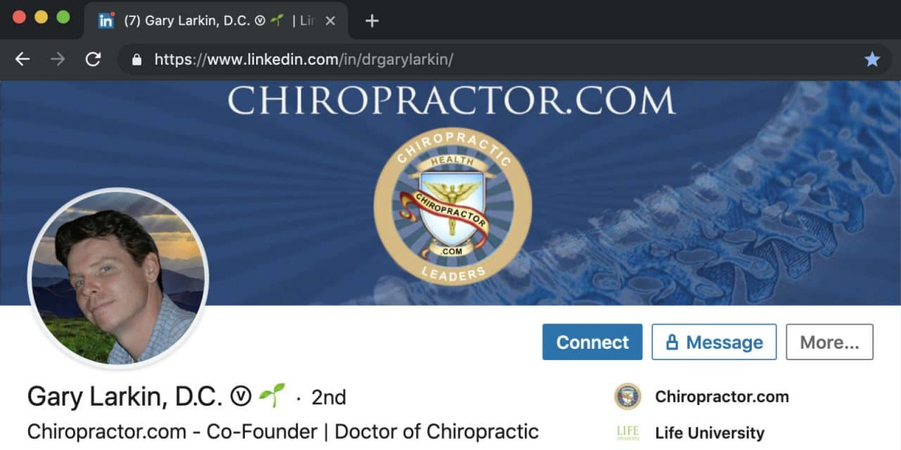 Make LinkedIn Scream… I'm a Chiropractor!