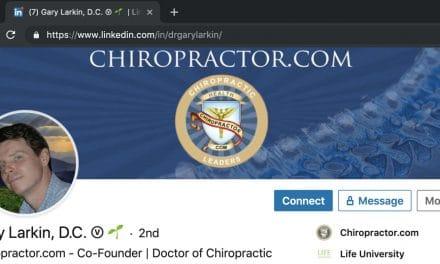 Make LinkedIn Scream… I'm a Chiropractor!